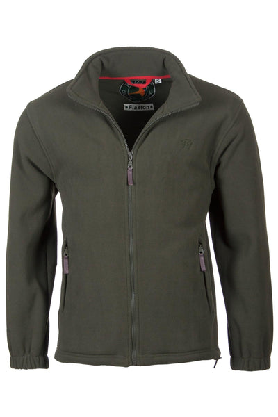 Olive - Mens Full Zip Fleece Jacket