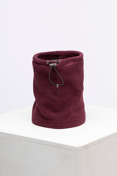 Burgundy - Ladies Fleece Neck Gaiter
