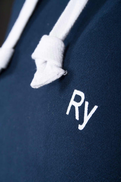 Navy - Rydale Hooded Jumper