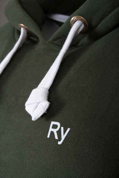 Olive - Rydale Hooded Jumper