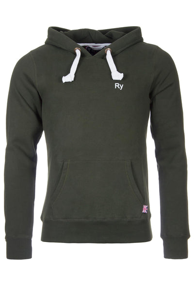 Olive - Rydale Fordon Overhead Hoody