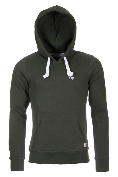 Olive - Thick Mens Hoodies