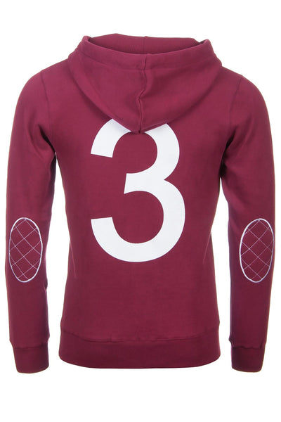Wine - Mens Classic Red Hoody