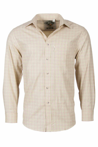 Lisset Gold - Graph Check Shirt