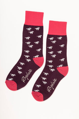 Galloping Horse Ankle Socks