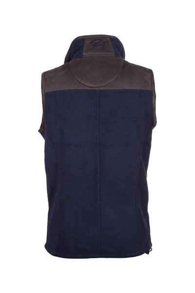 Ink - Ladies Garton II Fleece Gilet Ry Motif