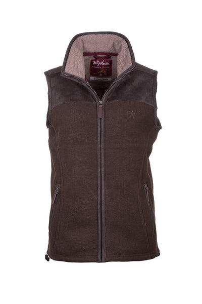 Moss - Ladies Garton II Fleece Gilet Ry Motif