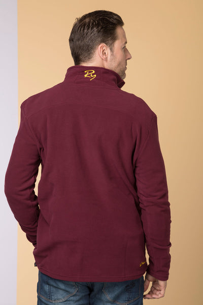 Deep Red - Garton II RY Fleece