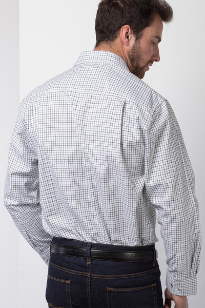 Garton Green - Mens 100% Cotton Country Check Shirts