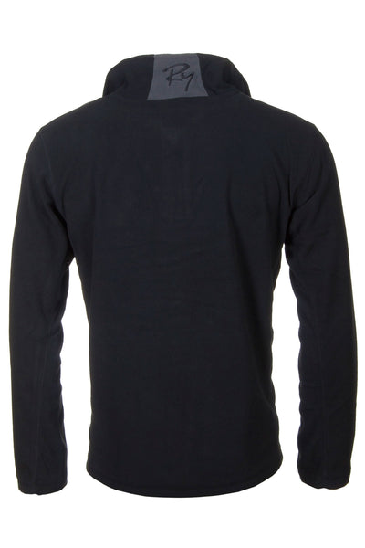 Black - Garton Half Zip Fleece for Men