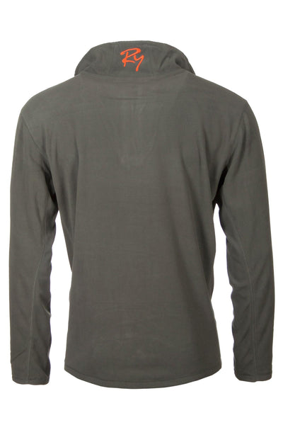 Olive Pheasant - Garton Half Zip Fleece for Men