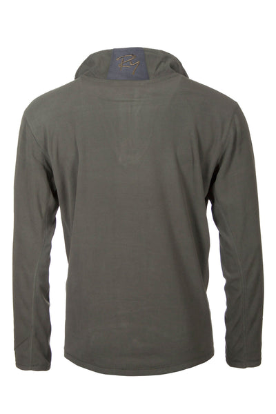 Olive - Garton Half Zip Fleece for Men