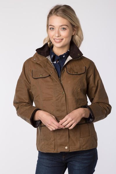 Tan - Gayle II Wax Jacket