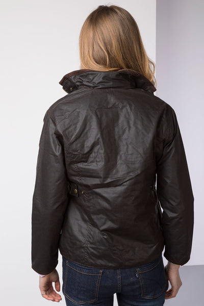 Brown - Rydale Gayle Waxed Jacket