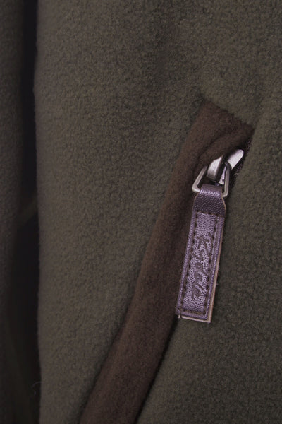 Olive - Men's Zip Pocket Fleece