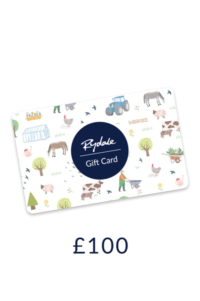Rydale £100 Gift Card
