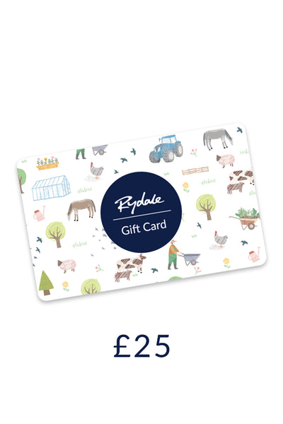 Rydale £25 Gift Card