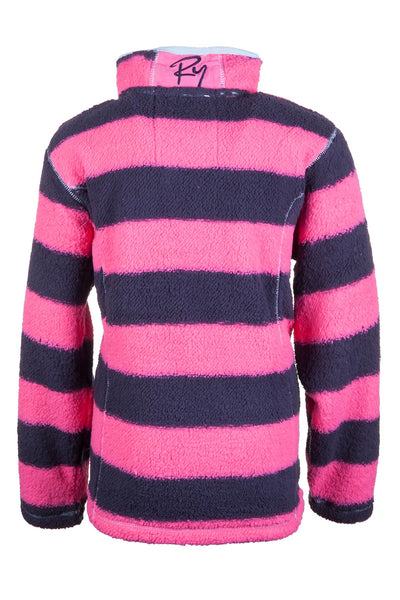 Navy/Candy - Girls Fun Fleece