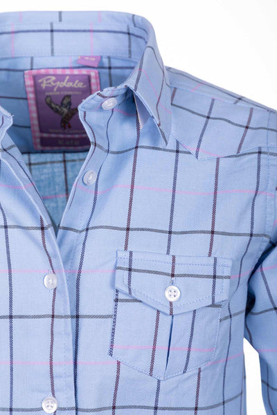 Kate - Rydale Juniors' Girls' Country Check Shirts