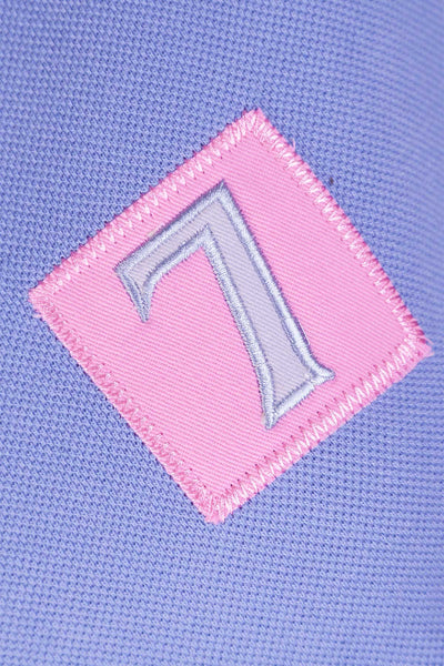 Lilac/Pink - Girls Cropton Numbered Polo Shirt