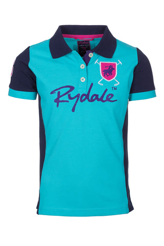 Girls Muston Panel Polo Shirt