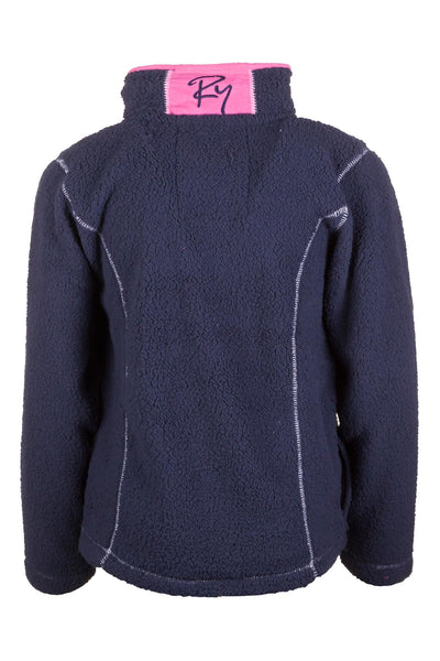 Navy - Girls Fun Fleece