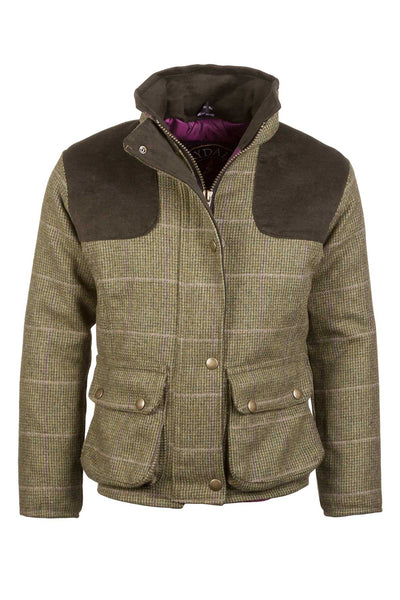 Small Check - Girls Tweed Jacket