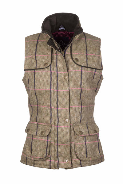 Megan - Rydale Juniors Girls Tweed Waistcoat Bodywarmer