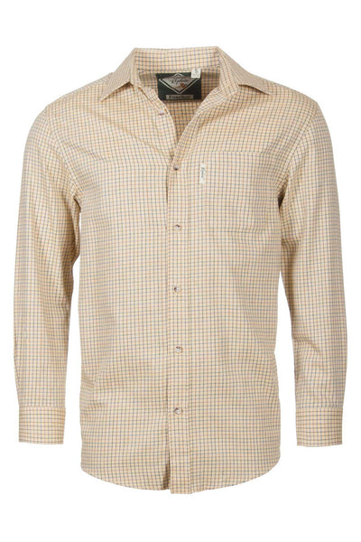 Poacher Gold - Mens Graph Check Shirt
