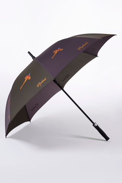 Olive/Brown - Golf Umbrella
