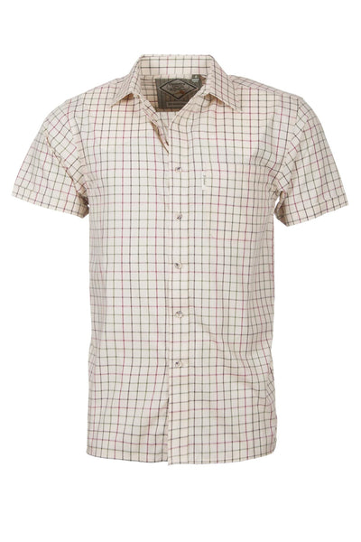 Gransmoor Lovat - Mens Easy Care Short Sleeved Shirt