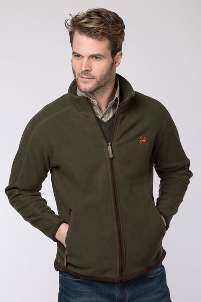 Olive - Rydale Full Zip Fleece