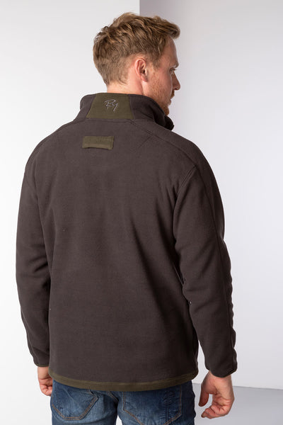 Brown - Men's Gransmoor Half Zip Fleece