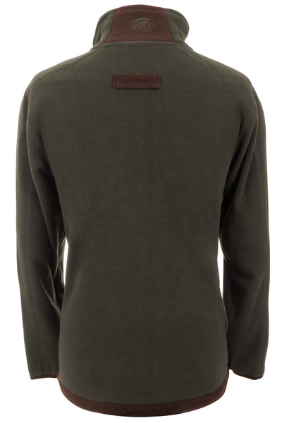 Olive - Gransmoor Half Zip Fleece