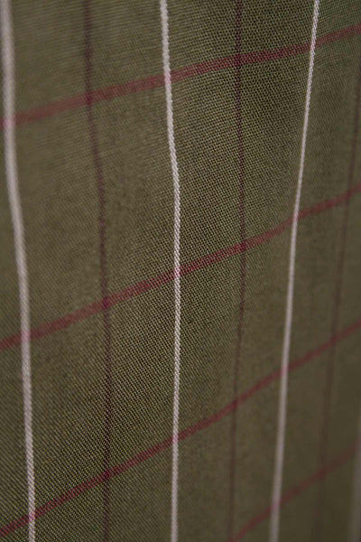 Grassington Olive - Classic Check Summer Shirts