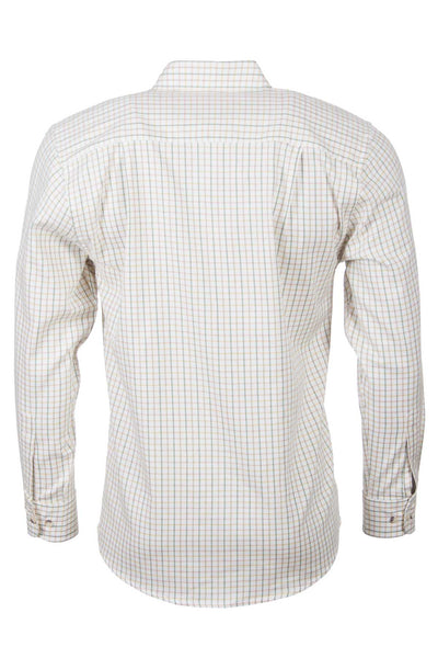 Tattersall Green - Long Sleeved Cotton Shirts