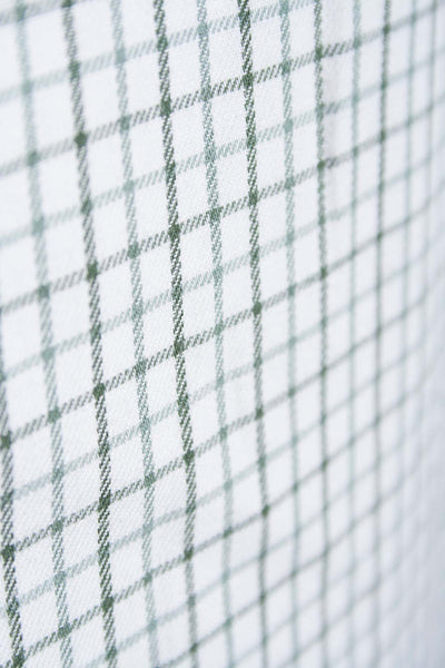 Garton Green - Mens 100% Cotton Graph Check Shirt