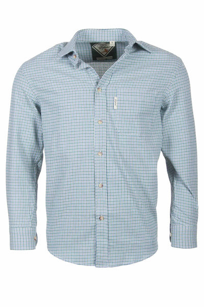 Millington Green - Classic Long Sleeved Check Shirt
