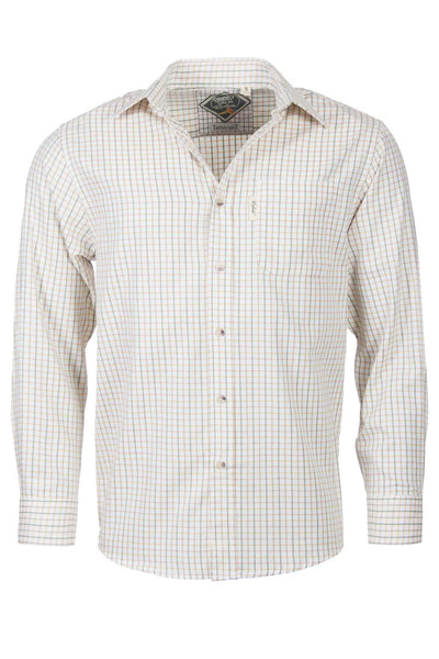 Tattersall Green - Mens Long Sleeved Check Shirt
