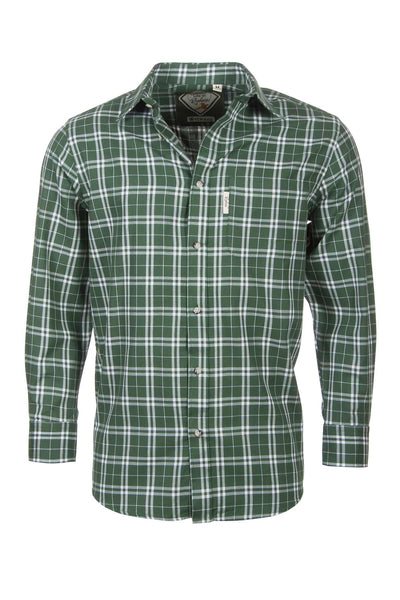 Wetwang Green - Country Checked Shirts