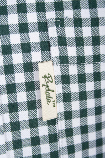 Green Gingham - Rydale Mens Classic Country Shirts