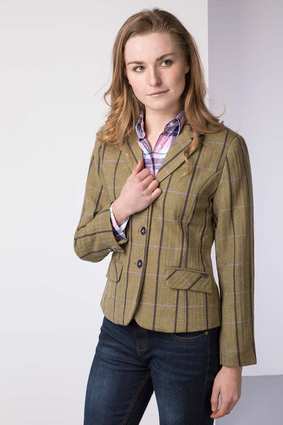 Lucinda - Tweed Hacking Jacket for Women