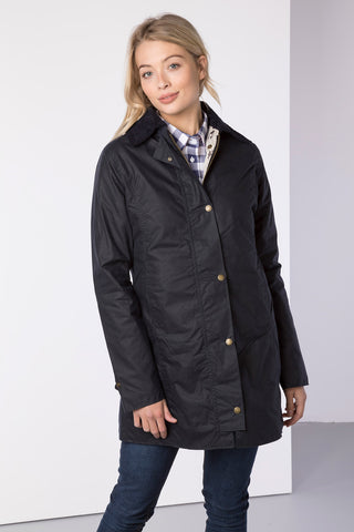 Hannah II 3/4 Wax Jacket