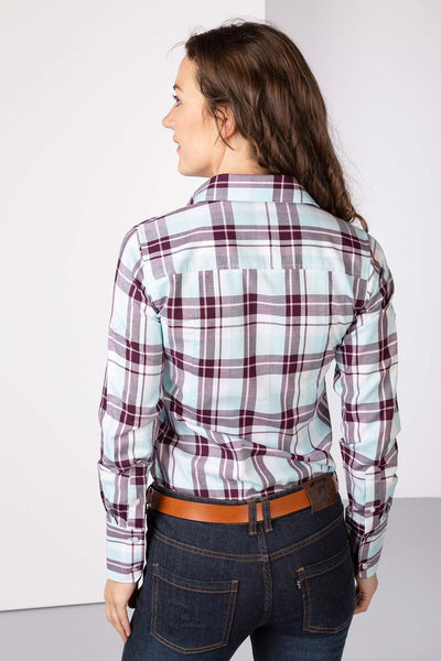 Berry - Hannah Country Check Shirt - Sally