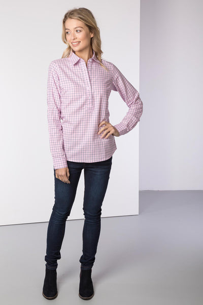 Pink - Hannah Country Overhead Shirt - Ellie II