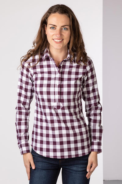 Berry - Hannah Country Overhead Shirt - Holly II