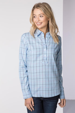 Hannah Country Overhead Shirt - Kate Tweed
