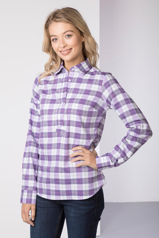 Grape - Hannah Country Overhead Shirt - Lily II