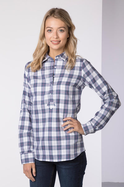 Smoke - Hannah Country Overhead Shirt - Lily II