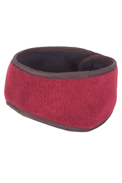 Red - Harpham Fleece Headband